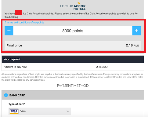 accor points