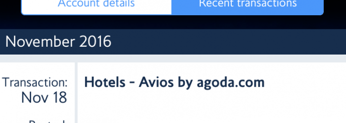 agoda-pointsmax-avios point posted