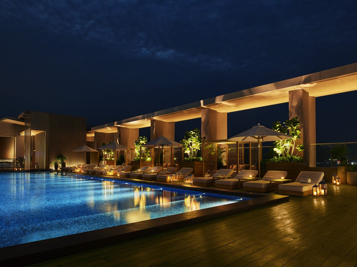 The sanya edition swimming pool