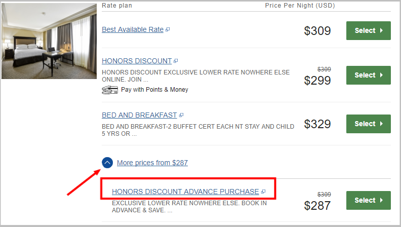 Available Rooms - Hilton Checkers Los Angeles