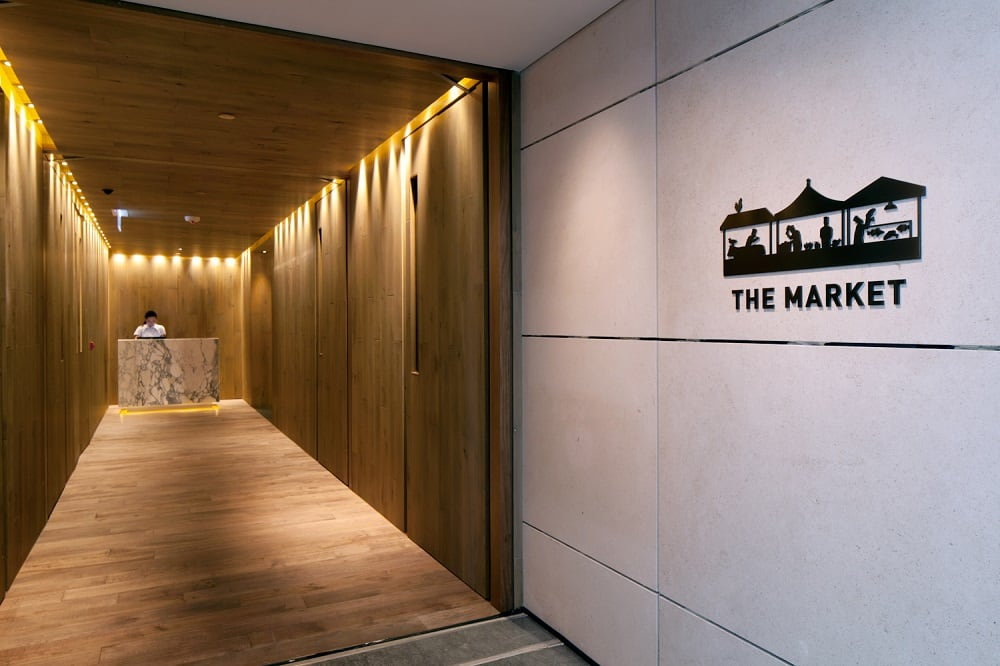 The Market - Entrance
