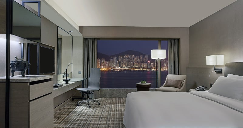 New World Millennium Hong Kong Hotel - Harbour View Room (1)