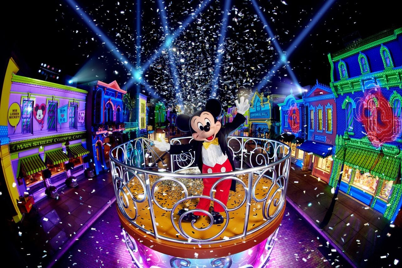 Hong Kong Disneyland_We Love Mickey Projection Show (1)_preview