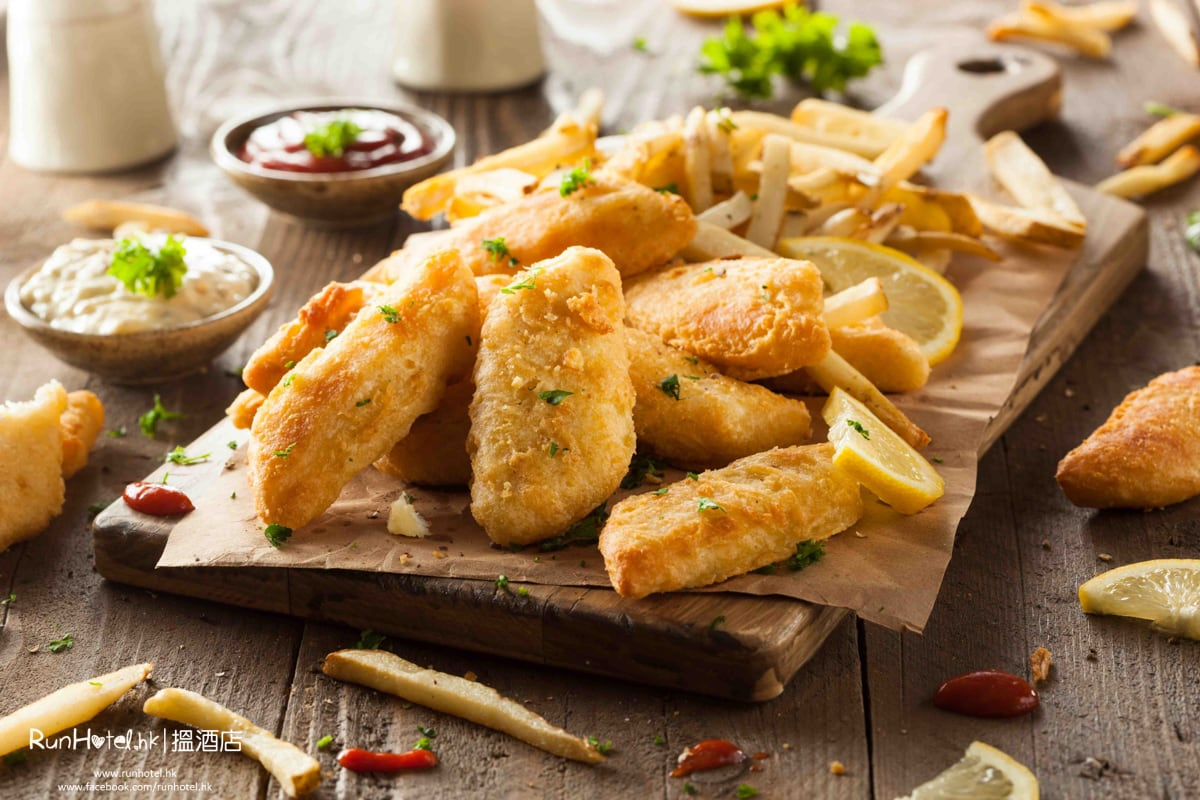 Australian-style Fish and Chips 炸魚薯條