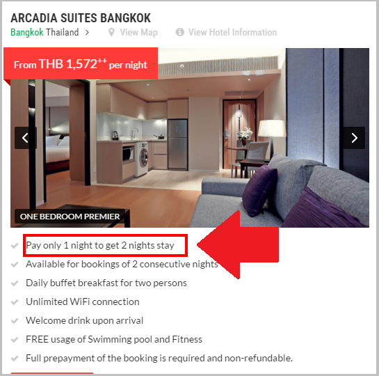 Hotel Special Offer Free Nights Compass Hospitality2
