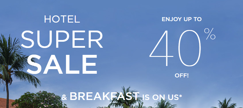 accorhotels UP TO 40 OFF YOUR STAY Free Breakfast