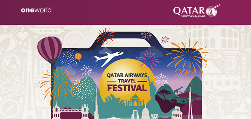 Qatar Airways Travel Festival is back Save up to 70