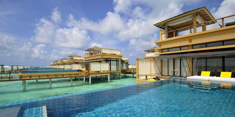 Sunset-InOcean-Pool-Villa-Angsana-Velavaru-Resort