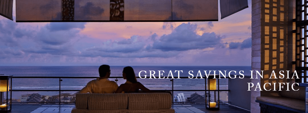 Great Savings in Asia Pacific - The Ritz-Carlton