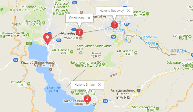ASHINOKO HANAORI map