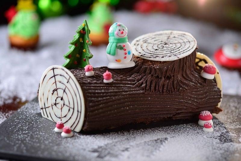add@Prince_Chocolate Yule log cake 聖誕樹頭蛋糕
