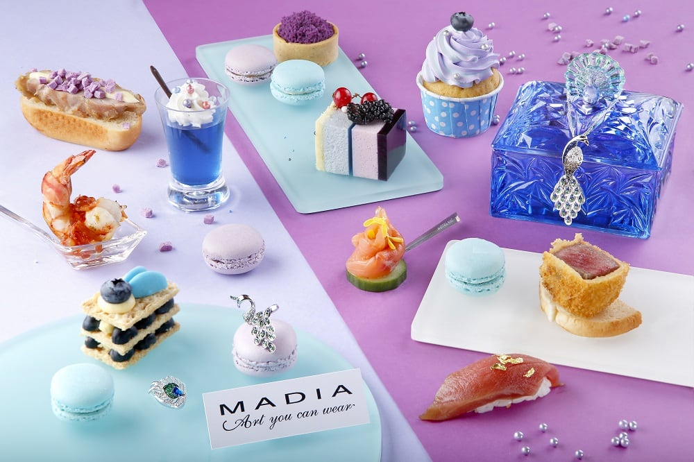 MADIA Peacock Afternoon Tea (H)