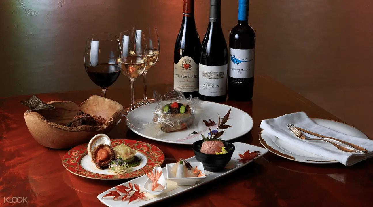 九龍香格里拉大酒店一品備受推崇的美味佳餚