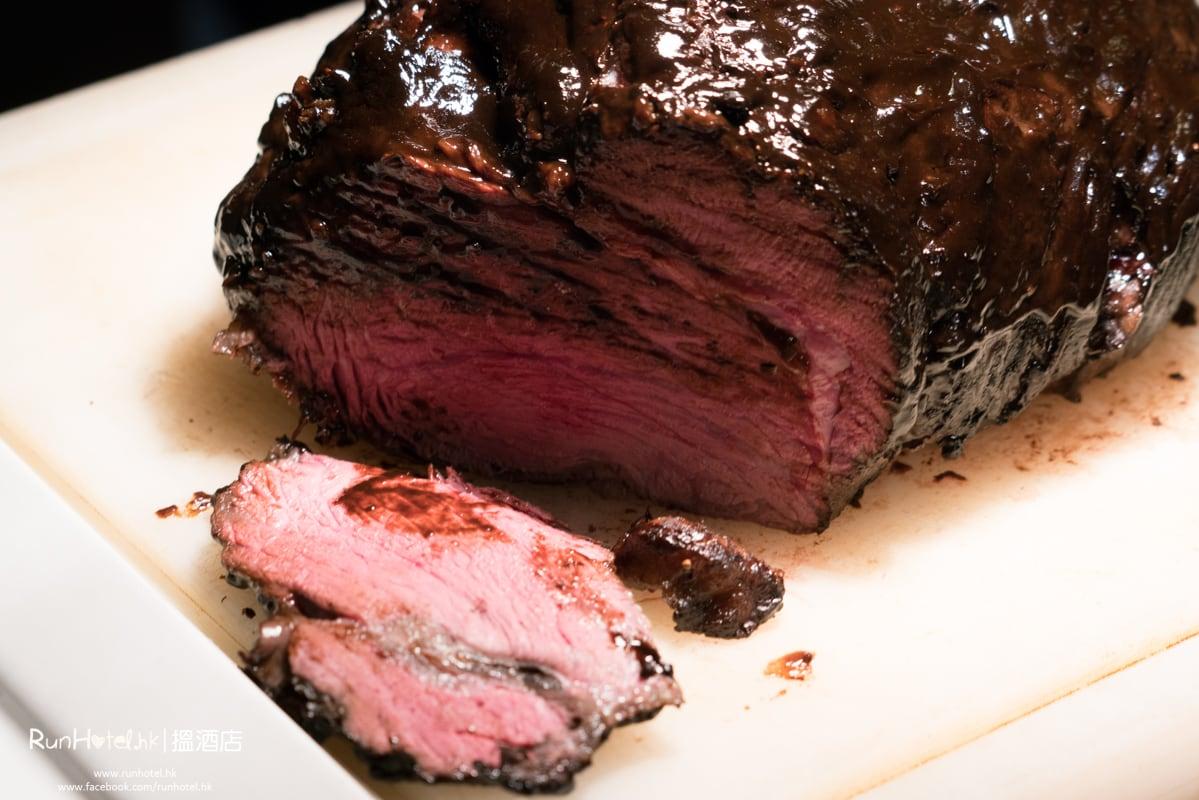 慢煮D-腰臀和牛(D-rump)配黑蒜