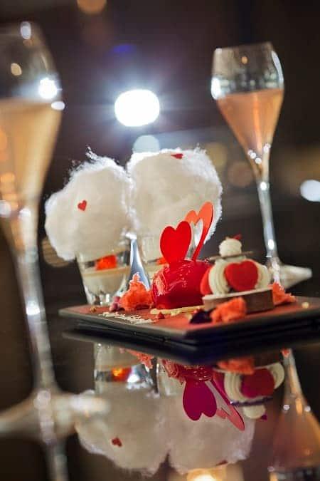 玫瑰草莓慕斯蛋糕-二重奏朱古力脆撻-檸檬香檳奶凍